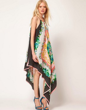 Image 4 ofMSGM Maxi Dress with Chain Halter