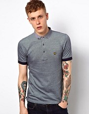 Lyle &amp; Scott Vintage Polo with Chambray Collar