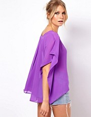 ASOS Top With Drapey Back