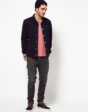 Image 4 ofASOS Varsity Jacket