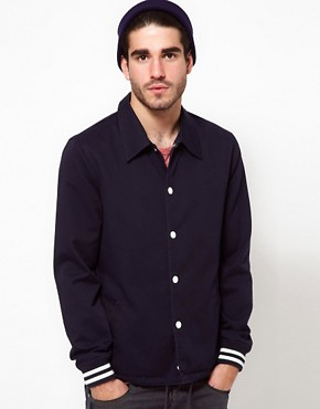 Image 1 ofASOS Varsity Jacket