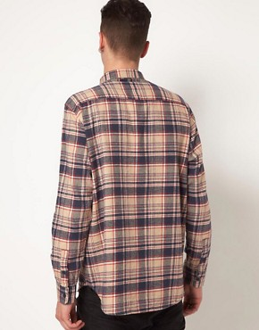 Image 2 ofCheap Monday Shirt with Check Flannel Print
