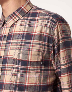 Image 3 ofCheap Monday Shirt with Check Flannel Print