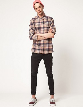 Image 4 ofCheap Monday Shirt with Check Flannel Print