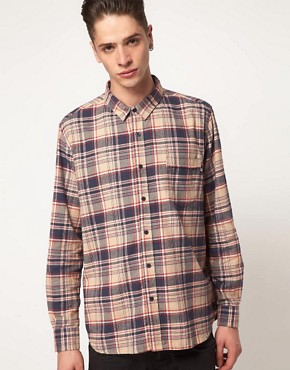 Image 1 ofCheap Monday Shirt with Check Flannel Print