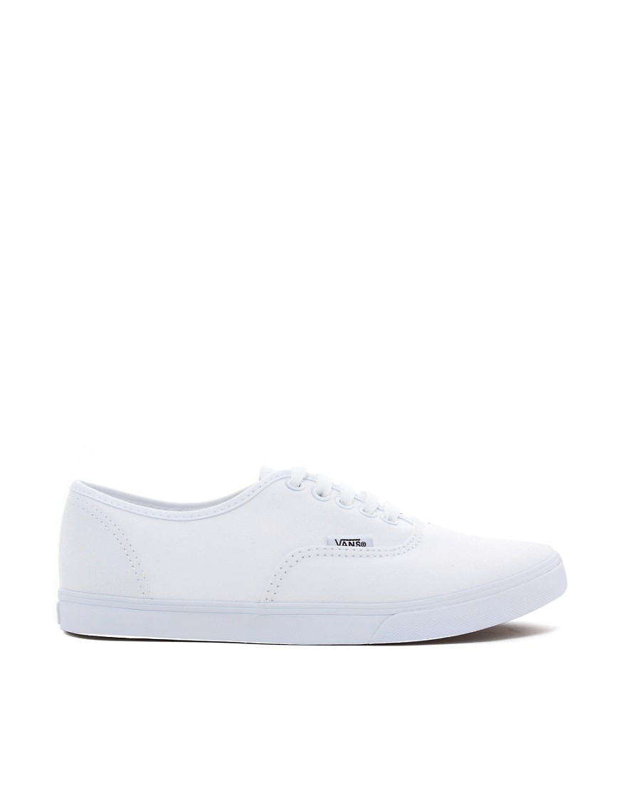 Image 2 of Vans Authentic Lo Pro White Trainers