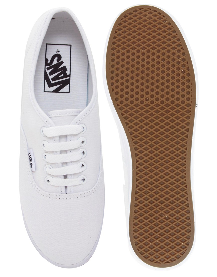 Image 3 of Vans Authentic Lo Pro White Trainers