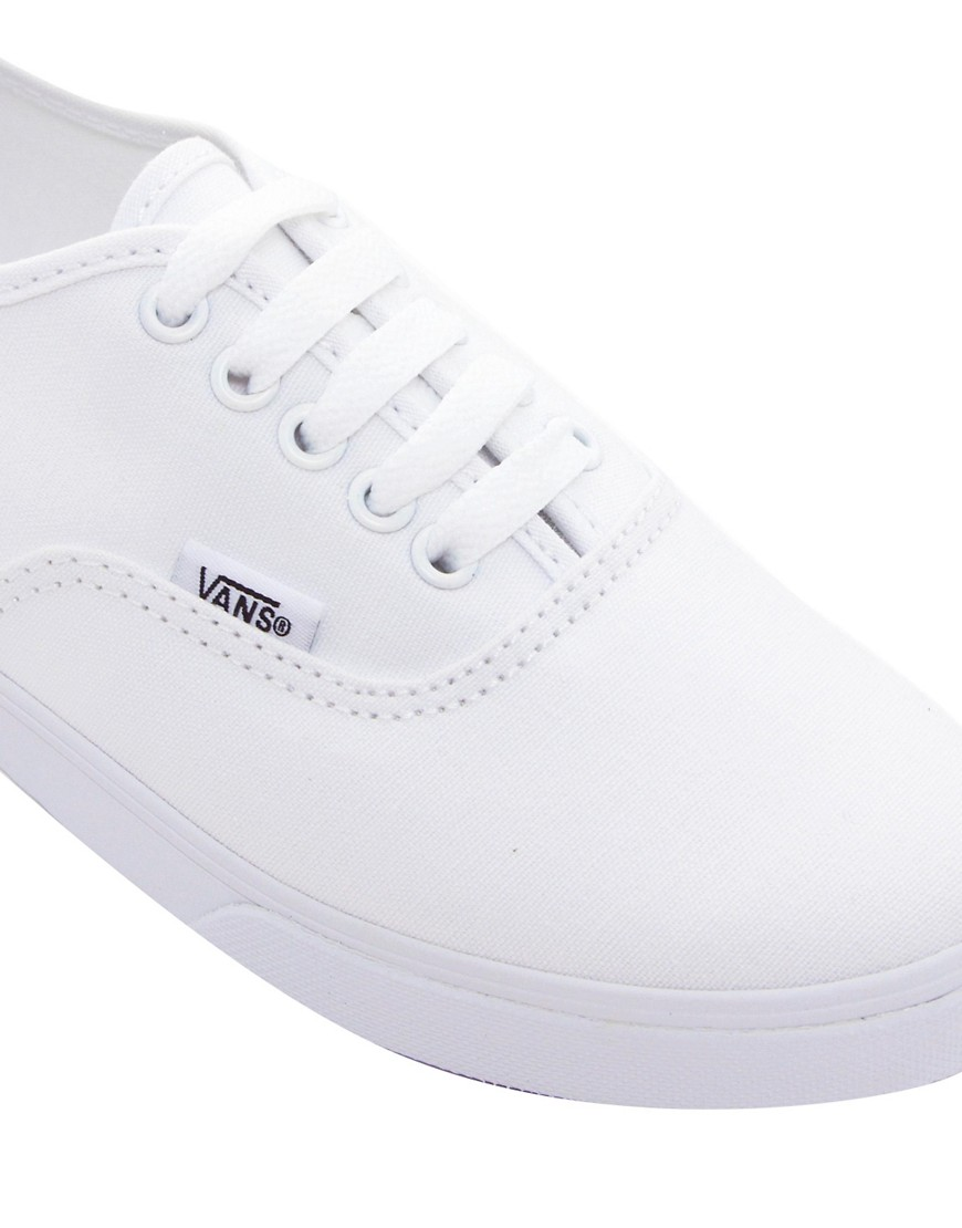 Image 4 of Vans Authentic Lo Pro White Trainers