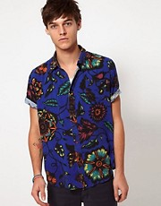 Insight Shirt Short Sleeve Floral Print Reef Bash