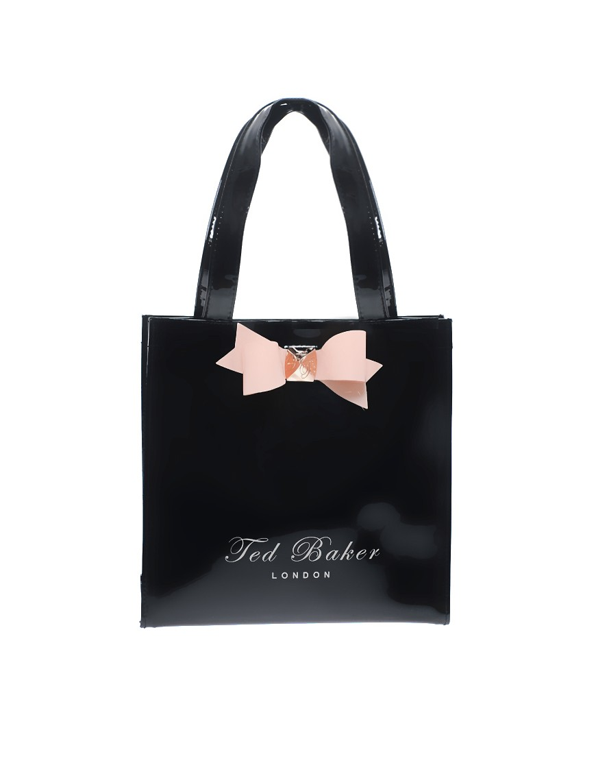 Image 1 of Ted Baker Lilcon Mini Bow Shopper