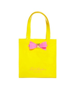Image 1 ofTed Baker Lilcon Mini Bow Shopper
