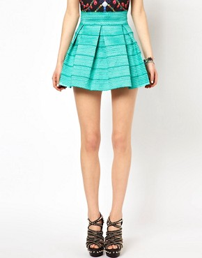 Image 4 ofGinger Fizz Bandage Skater Skirt