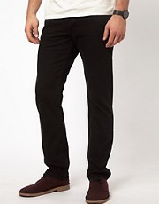 Vaqueros de corte slim negros de Denim & Supply by Ralph Lauren