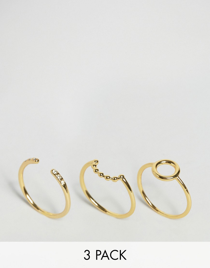 orelia-open-circle-stone-ring-pack-gold