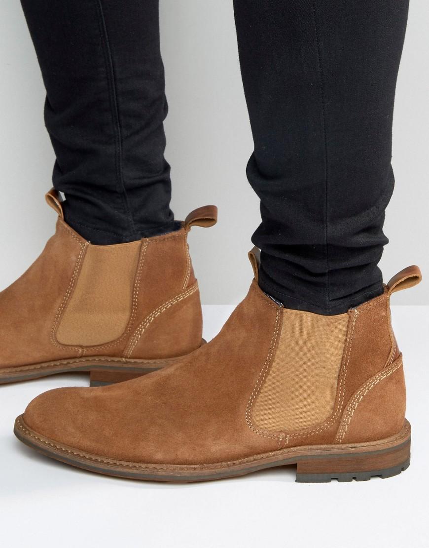 Замшевые ботинки челси ALDO Andreae - Рыжий