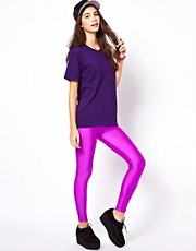 American Apparel - Leggings lucidi