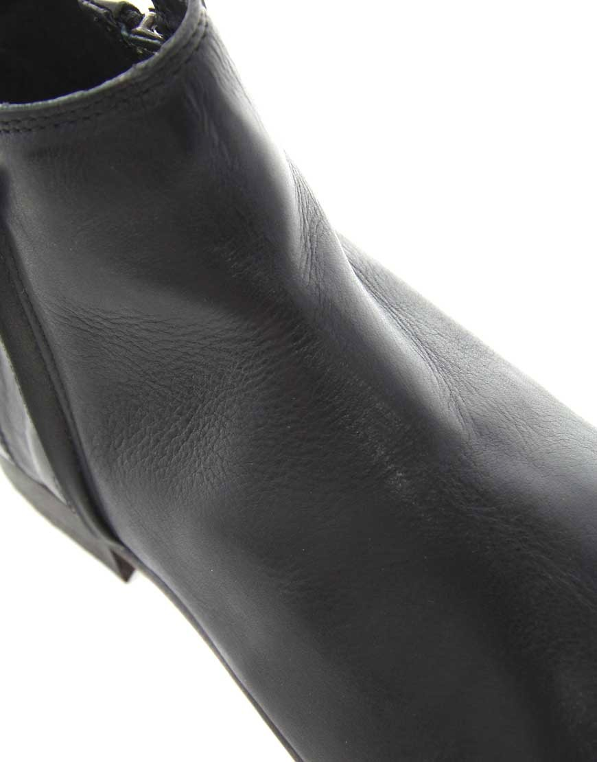 Image 2 ofASOS Boots With Double Zip Opening