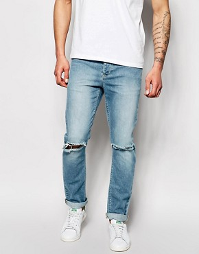 ASOS Skinny Jeans With Rips