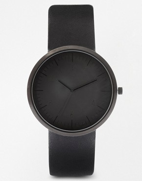Image 1 ofASOS Sleek Monotone Strap Watch