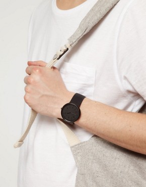 Image 2 ofASOS Sleek Monotone Strap Watch
