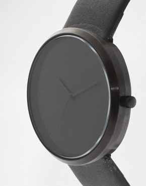 Image 3 ofASOS Sleek Monotone Strap Watch