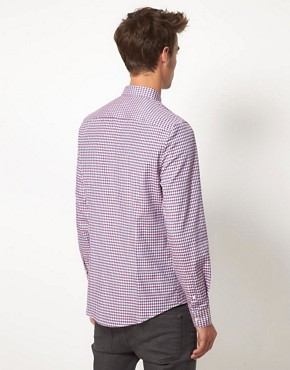 Image 2 ofASOS Smart Gingham Shirt
