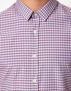 Image 3 ofASOS Smart Gingham Shirt