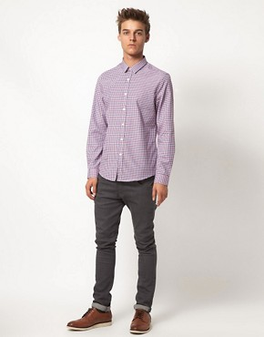 Image 4 ofASOS Smart Gingham Shirt