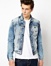 Antony Morato Washed Denim Jacket