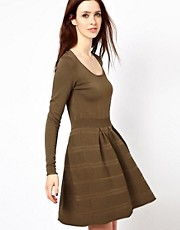 Oasis Tuck And Textured Dress