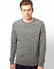 Fred Perry Jumper with Gingham Degrade