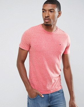 Hilfiger Denim Melange T-Shirt with Crew Neck