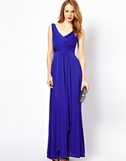 Coast Estee Jersey Built Up Maxi Dress