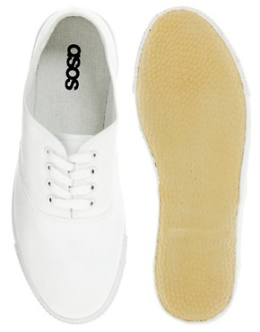 Bild 3 von ASOS  Oxford-Leinenschuh