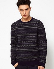 French Connection Merino Fairisle Jumper