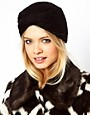 Image 1 ofASOS Knitted Turban Hat