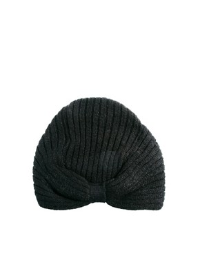 Image 2 ofASOS Knitted Turban Hat