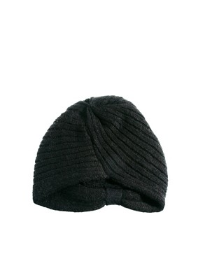 Image 4 ofASOS Knitted Turban Hat