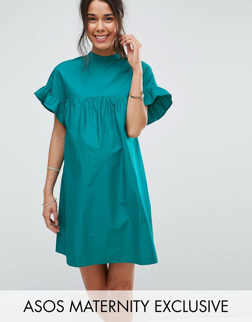 ASOS Maternity Smock Dress - Green