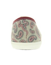 Fred Perry Aubrey Classic Paisley Print Trainers