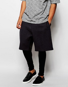 ASOS Shorts With Meggings In Harris Tweed