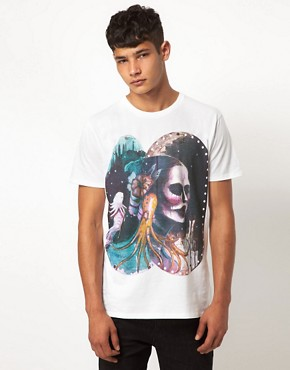 Image 1 ofSupremebeing T Shirt White Canvas Project By Memuco