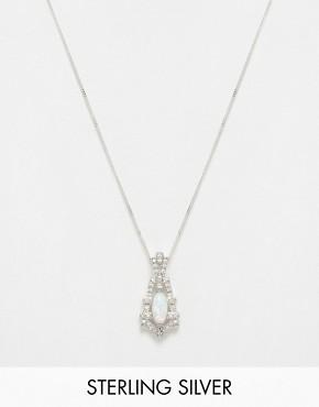 V Jewellery Deco Empire Short Pendant Necklace