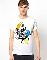Franklin & Marshall  T-Shirt mit Undisputed-Motiv