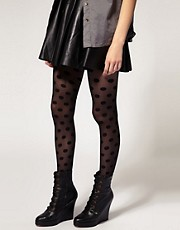 ASOS Spot and Sheer Tights