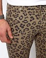 Image 3 of ASOS Skinny Jeans With Animal Camo Print