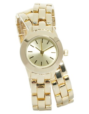 Image 1 ofASOS Wraparound Boyfriend Watch