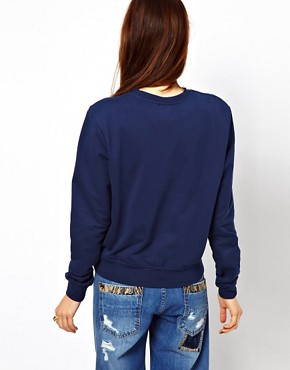 Image 2 ofASOS Sweatshirt with London Scene