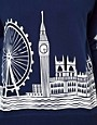 Image 3 ofASOS Sweatshirt with London Scene