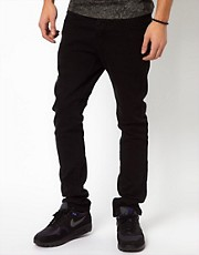 Kr3w Jeans Skinny Jet Black